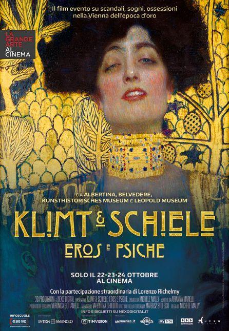 KLIMT  eEe  SCHIELE EROS E PSICHE - LA GRANDE ARTE AL CINEMA 2018/2019
